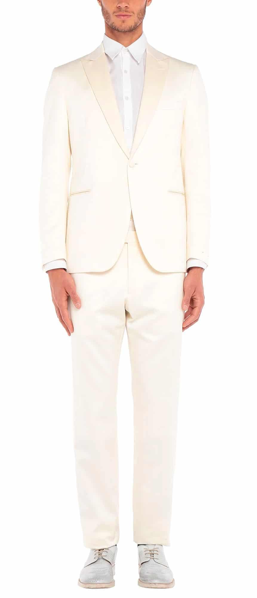 Lardini Cotton Silk Tuxedo Suit
