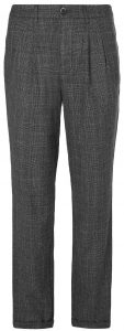 Barena Wool Prince of Wales Trousers
