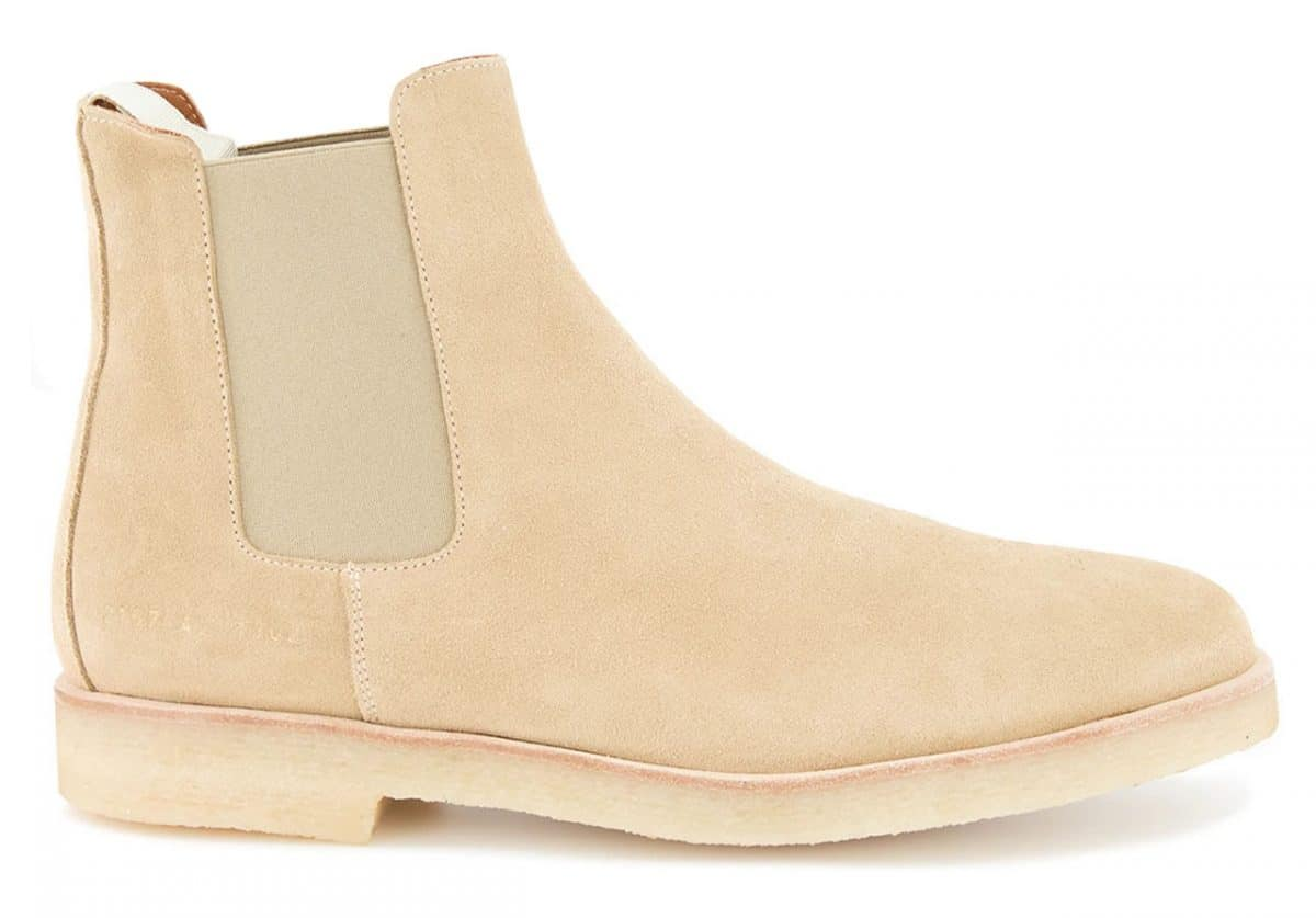 Common Projects Chelsea Boots Beige