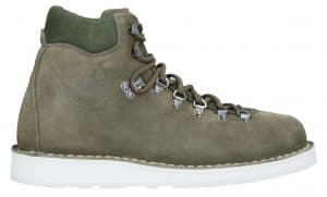 Diemme Suede Hiking Boots Olive Green