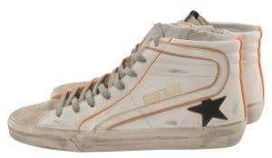 Golden Goose Slide Star Sneakers Orange