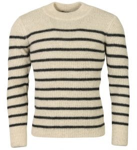 Isabel Marant George Striped Alpaca Sweater