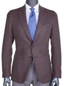 Isaia Gregory Wool Cashmere Blazer Jacket