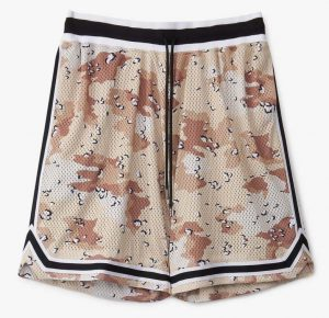 John Elliott Camo Game Shorts