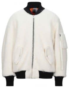 Laneus Alpaca Bomber Jacket