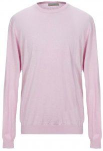 Laneus Cashmere Silk Pink Sweater