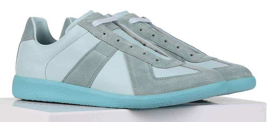 Maison Martin Margiela GATs Blue Teal Sneakers