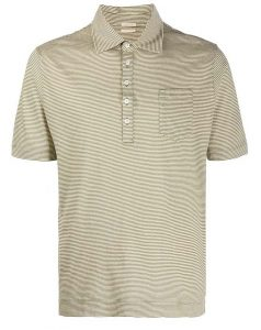 Massimo Alba Cotton Linen Fidicudi Polo Shirt
