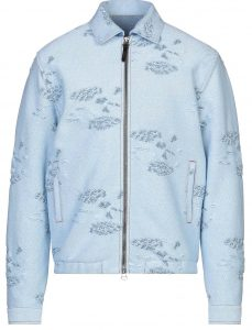 Missoni Distressed Blue Jacket