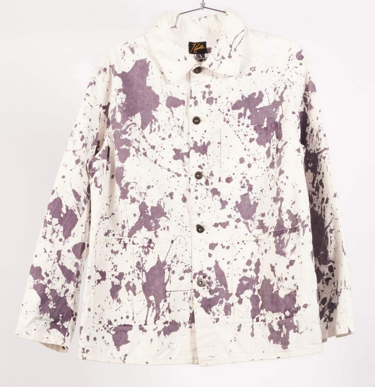 Needles Paint Splatter Coverall Jacket