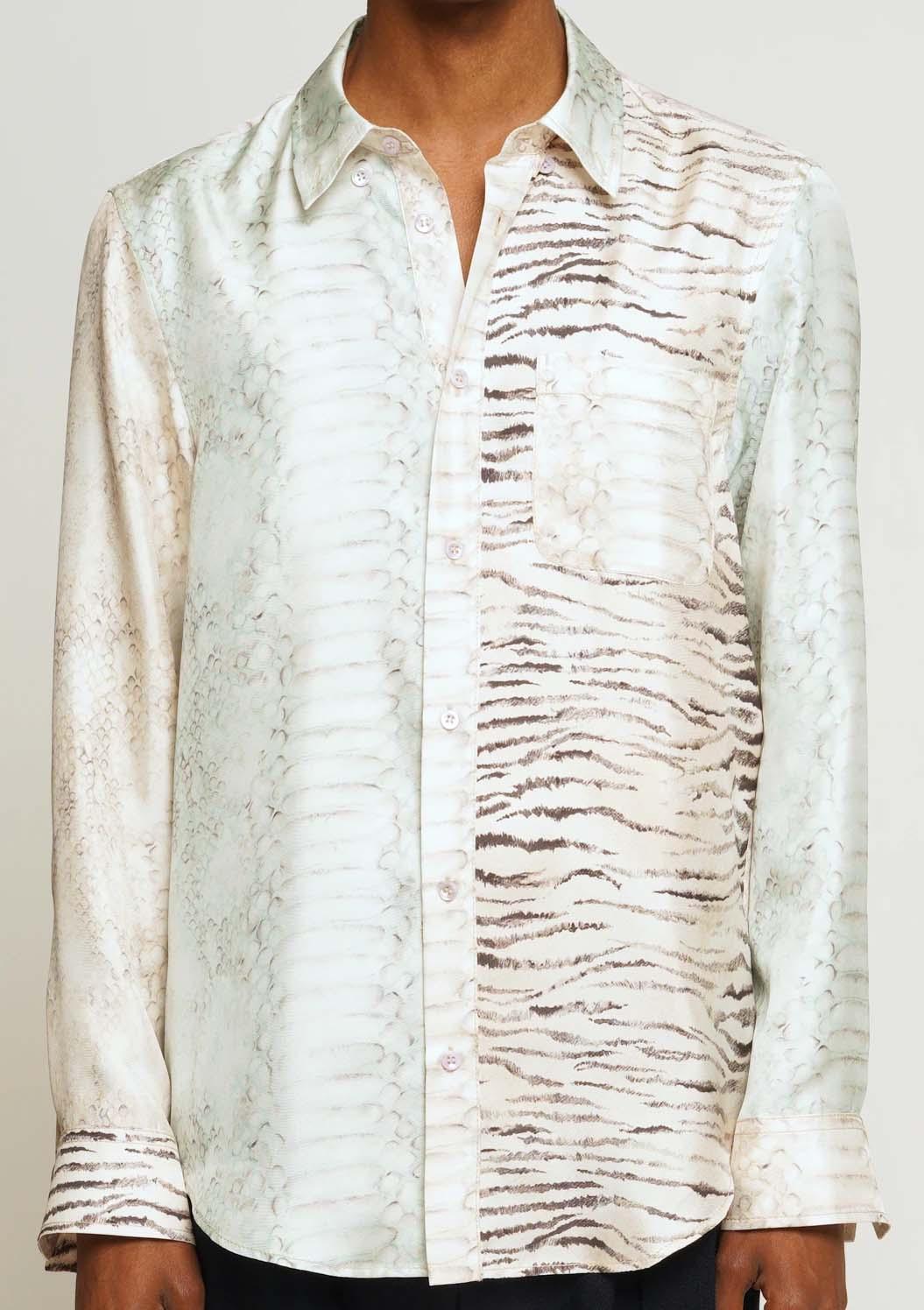 Sies Marjan Sander Printed Silk Shirt