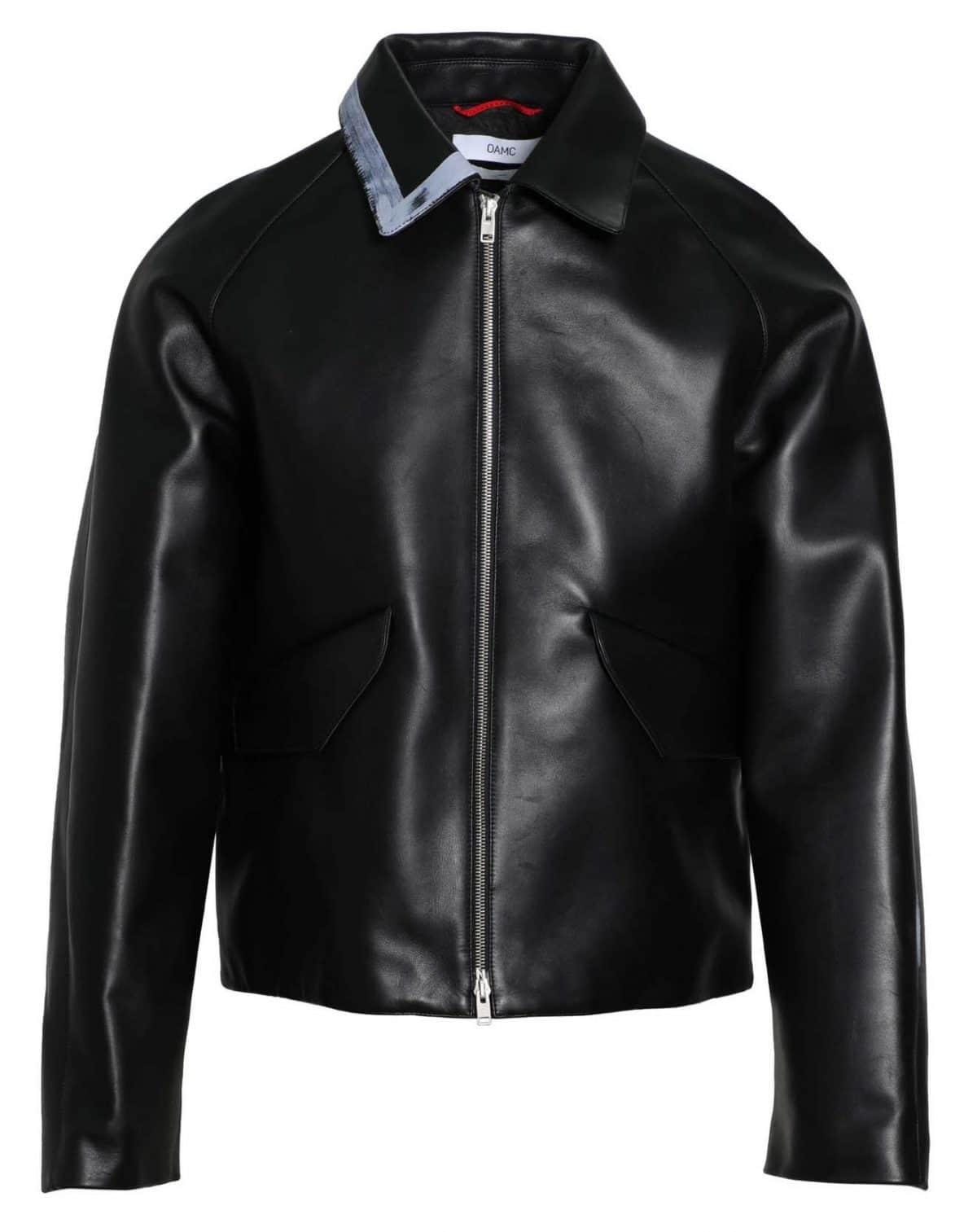 OAMC Painted Leather Jacket