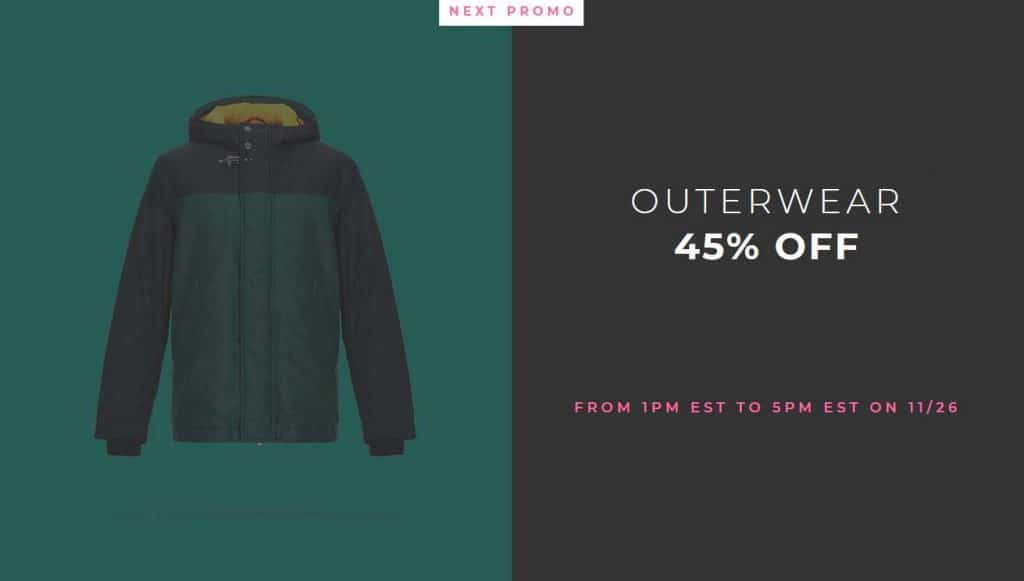 Yoox Black Friday Outerwear