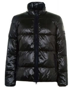 Barbour International Act Quilted Puffer Jacket Black