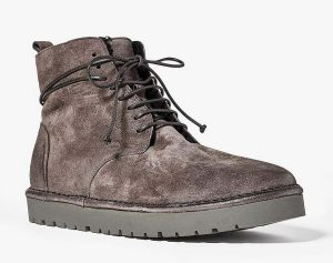 Marsell Gomme Shearling Lined Suede Boots