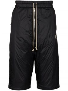 Moncler x Rick Owens Padded Shorts Black
