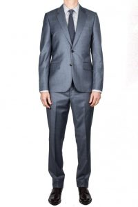 Paul Smith Sharkskin Tailored Fit Suit
