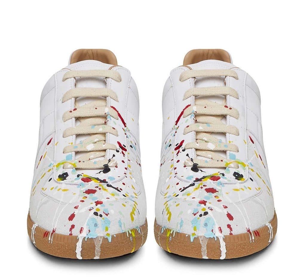 Maison Martin Margiela Paint Splatter Gat Sneakers