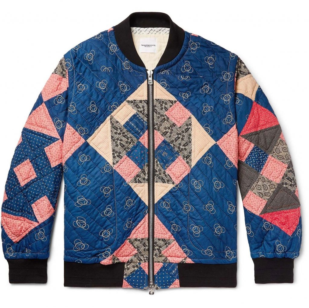 TAKAHIRO MIYASHITA THESOLOIST patchwork quilted jacket